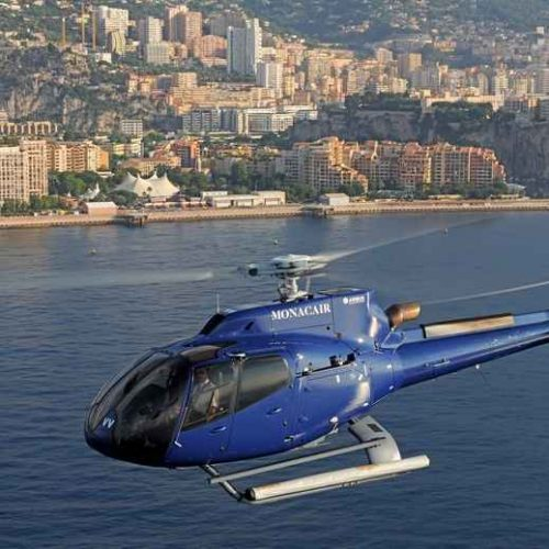 Helicopter transfer from Nice to Monaco Friday, May 22nd One way 6