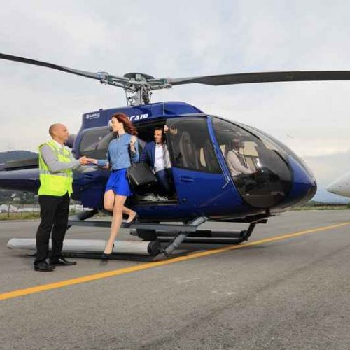 Helicopter transfer from Nice to Monaco Monday, May 25th, roundtrip 15
