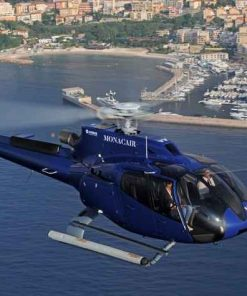 Helicopter transfer from Nice to Monaco Saturday, May 22 2021 3