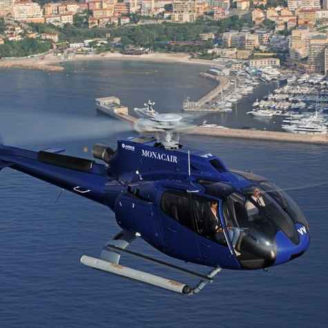 Helicopter transfer from Nice to Monaco Friday, May 22nd roundtrip 13