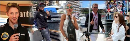 GP de Monaco à bord d'un yacht samedi 28 et dimanche 29 mai 2022-4100.00 €/pers. 4