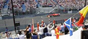 tribune gp monaco